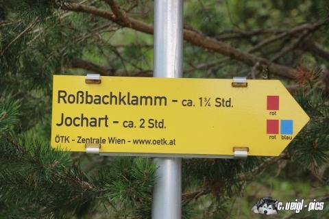 Von Rohr im Gebirge zur Rossbachklamm und retour