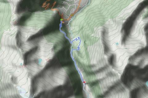 """Wanderung über die """"Krimmler Wasserfälle"""" ins Krimmler Achental zur Veitnalm (15.07.2014)"""