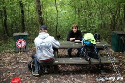 Wanderung durch den Rohrwald und auf den Michelberg