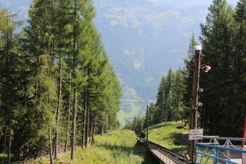 Kreuzeckbahn und Fußweg Kolbnitz