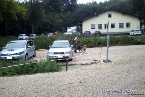 Nuk' on Tour im Rohrwald (9,5km, 26.08.2018)
